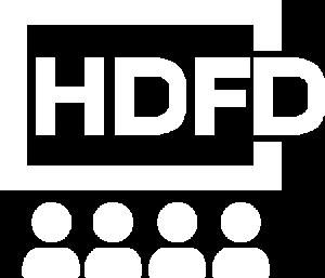 HDFD LOGO WHITE